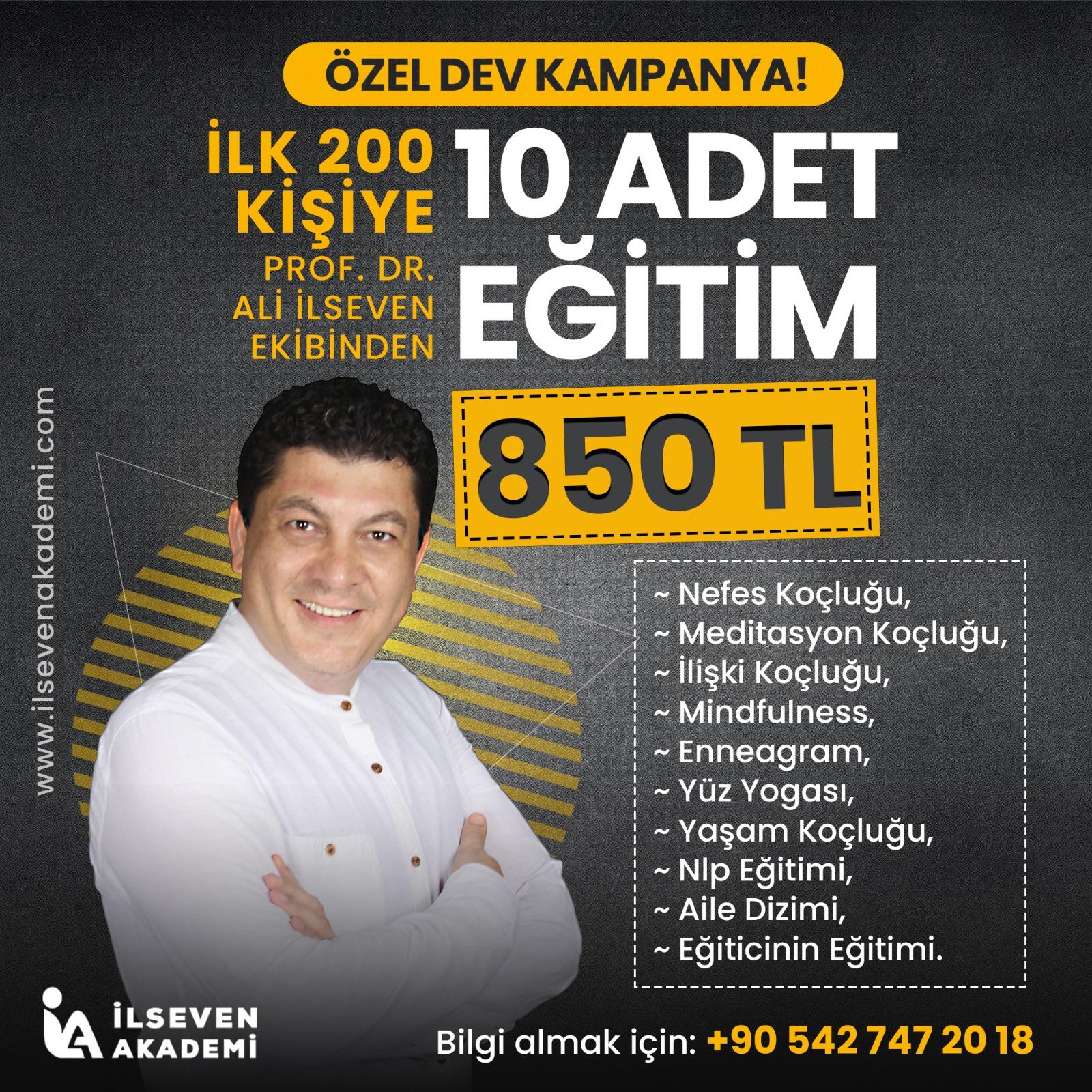 10 EĞİTİM  850 TL