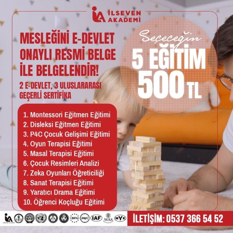 ÇG GURUBU 5 EĞİTİM 500