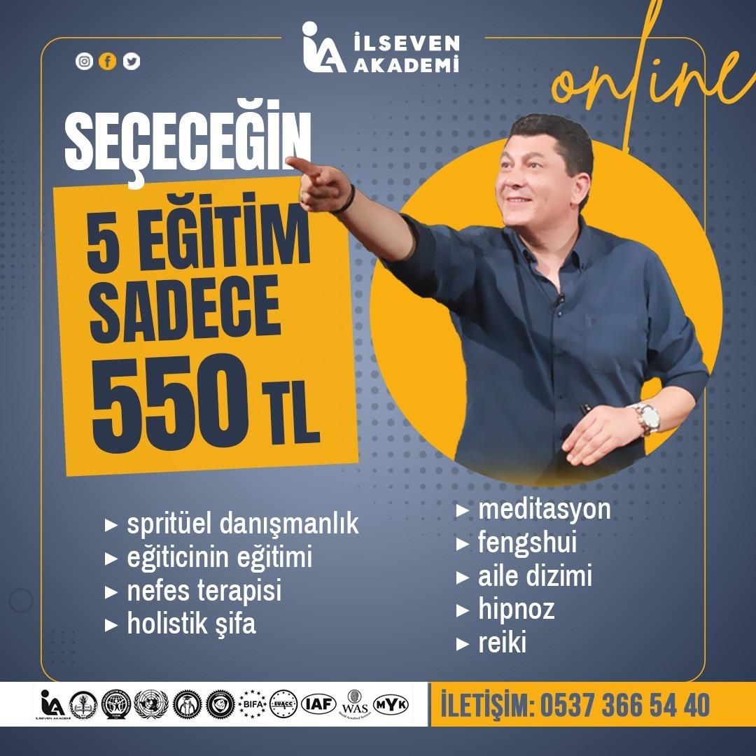 SEÇECEĞİN 5 EĞİTİM 550 TL